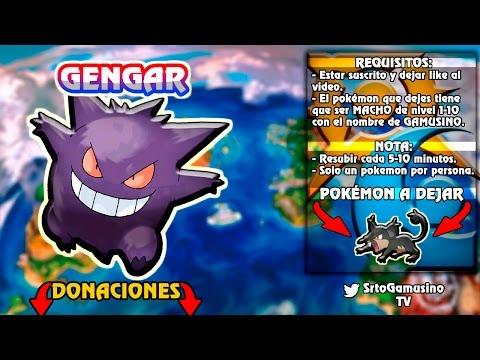 REPARTO GENGAR | SHINY 6V | Pokemon Sol y Luna