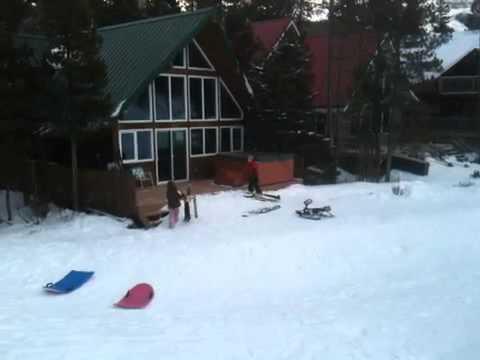 Meyer Family ski trip- Castle Mountain