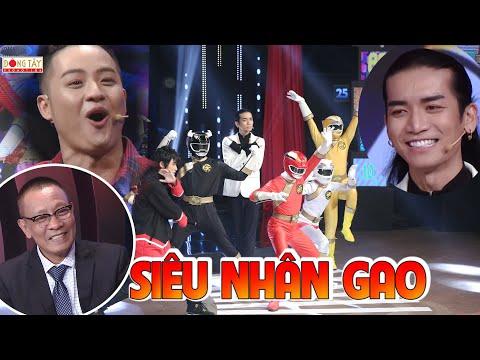 Xem phim năm anh em siêu nhân - Thanh Duy, BB Trần phấn khích khi 5 ANH EM SIÊU NHÂN GAO xuất hiện trên sân khấu | Ký Ức Vui Vẻ #10