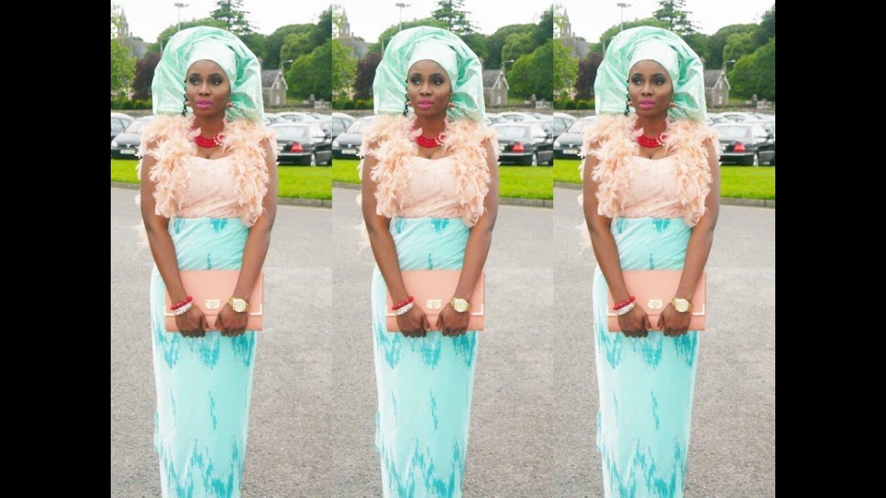 Nigerian Wedding 1 Velvet Amp Lace Aso Ebi Yoruba Wedding