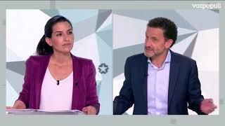 Los candidatos a la presidencia madrileña reprochan el cartel de Vox contra los menas