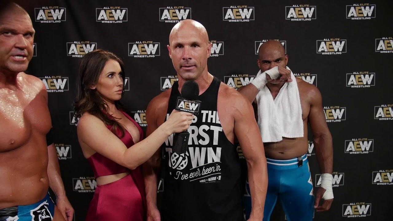 Shawn Spears And Brandi Rhodes Hype Jim Ross - Spears Interview, SCU Vs.  Lucha Bros, AEW - PTandMe - Wrestling Inc.