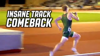 Matthew Boling With A INSANE 400 Meter Final Leg COMEBACK Ran In 44.74 Seconds