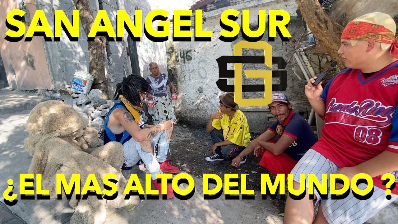 SAN ANGEL SUR -EL BARRIO MÁS ALTO DEL MUNDO LA GRANJA