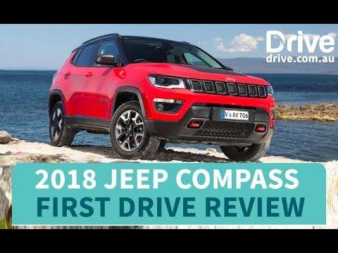 2018 Jeep Compass First Drive Review   Drive.com.au - Dauer: 4 Minuten, 4 Sekunden