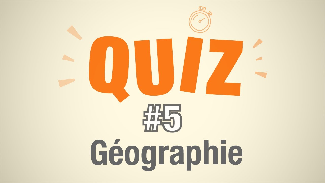question geographie avec reponse