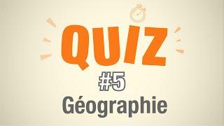 Quiz #5 - Géographie Française (10 questions de géographie)