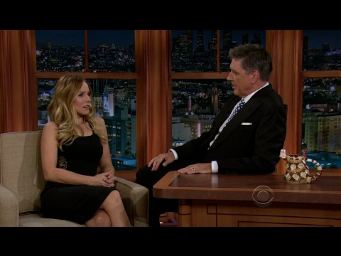 Late Late Show with Craig Ferguson 8/27/2012 Kristen Bell