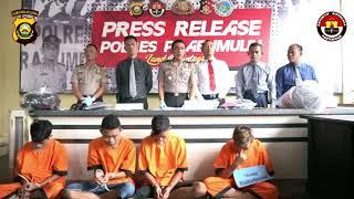 Ungkap Kasus Peredaran Video Syur YAng Melibatkan Pelajar Di Kota Prabumulih