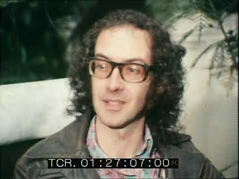 Poetry |  Roger McGough interview | Liverpool Poet | Fusion | 1971
