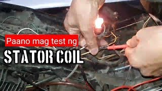 Paano mag test ng Stator Coil using Test Light