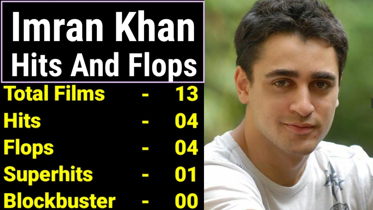 Imran Khan Hits Or Flops Movies List And Box Office Collections Analysis