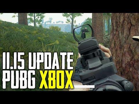 PUBG Xbox One 11.15 Update (Playerunknowns Battlegrounds)