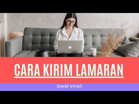 Cara Mengirim Surat Lamaran Lewat Email # 2