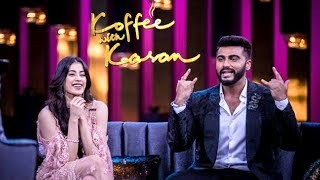 Koffee With Karan Season 6 - Jhanvi Kapoor And Arjun Kapoor