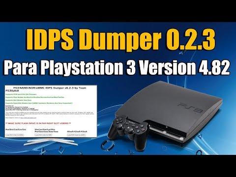 IDPS Dumper 0.2.3 Funciona en Playstation 3 V 4.82 - INFORMACIÓN -