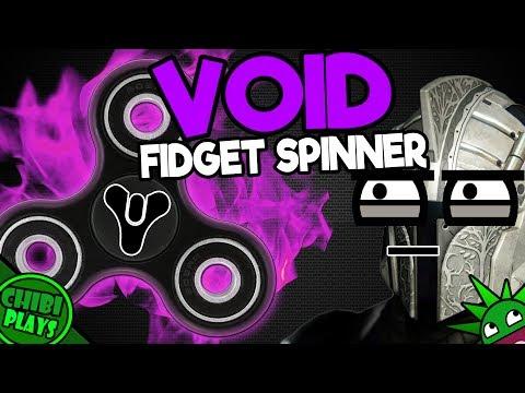 Destiny Void FIDGET SPINNER! (Why Fidget Spinners...)