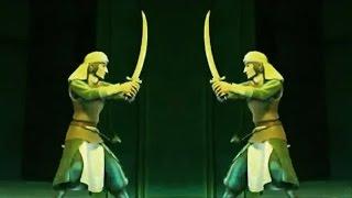 Мультфильм Приключения Саладина. Чудовища