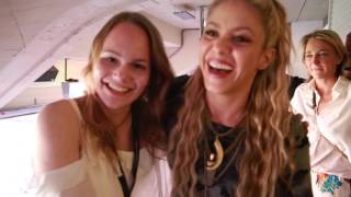 Shakira & Charlotte: Meet and Greet in Barcelona