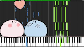 Dango Daikazoku - Clannad (Ending) [Piano Tutorial] (Synthesia…