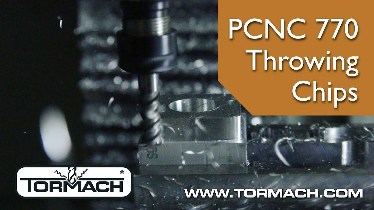 tormach pcnc 770. tormach pcnc 770 cutting aluminum pcnc o