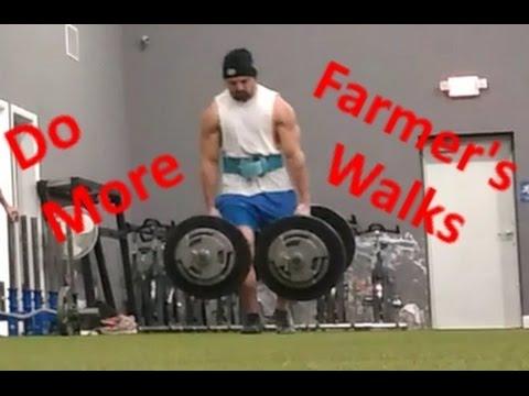 Why You Should Do Farmer's Walks