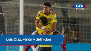 Perú vs Colombia: gol de Luis Díaz, regate, visión y definición para el 3-0