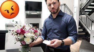 ANOTHER MAN SENT ME FLOWERS PRANK ON HUSBAND + MAKEUP & GROCERY HAULS