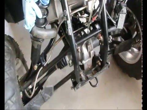 hqdefault polaris sportsman 850 steering repair youtube  at bayanpartner.co