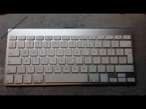 a1314 apple wireless keyboard disassembly youtube. Black Bedroom Furniture Sets. Home Design Ideas
