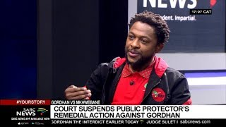 Gordhan vs Mkhwebane, EFF's sixth anniversary: Dr. Mbuyiseni Ndlozi
