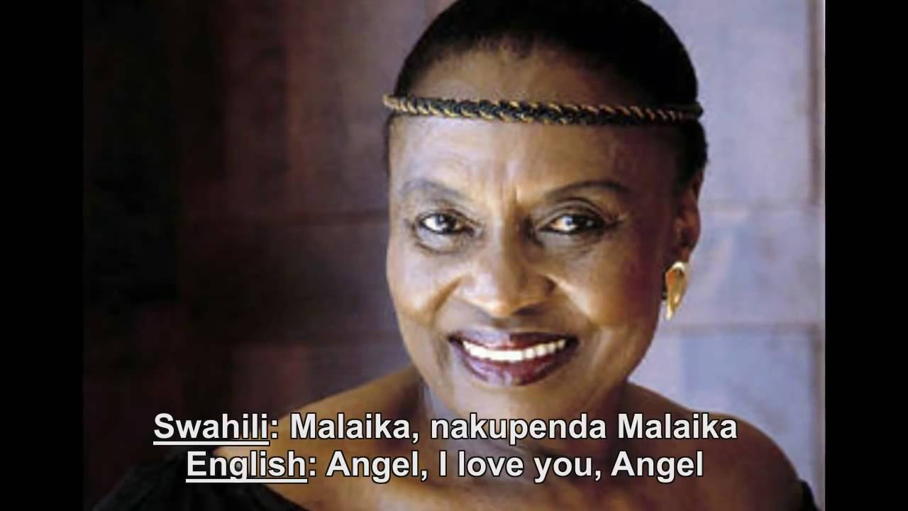 Download MIRIAM MAKEBA    Malaika    Original 1974 single with Swahili and English Lyrics