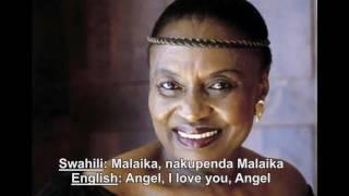 MIRIAM MAKEBA    Malaika    Original 1974 single with Swahili and English Lyrics