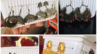 DIY Earrings Holder || Recycling Waste Plastic box || How to make Earrings Holder from Plastic Box