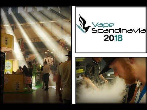 Vape Scandinavia 2018 - Vlog