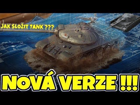 😎PŘICHÁZÍ NOVÁ VERZE !!! / Blueprinty a nové vzhledy posádky ve World of Tanks !!! thumbnail