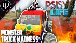 ARMA 3: PsiSyn Life — Monster Truck MADNESS!