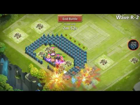 Castle Clash: TH16 Base HBM R!