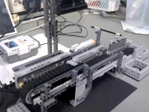 Afbeeldingsresultaat voor nxt lego lopende band