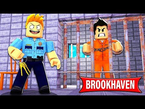 JE PARS DANS UNE PRISON ULTRA SÉCURISÉE ! (Roblox Brookhaven)