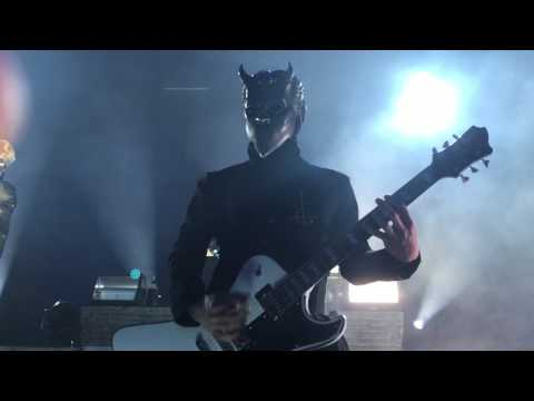 Ghost live @ Embassy Theatre. Ft. Wayne Indiana. SQAURE HAMMER.