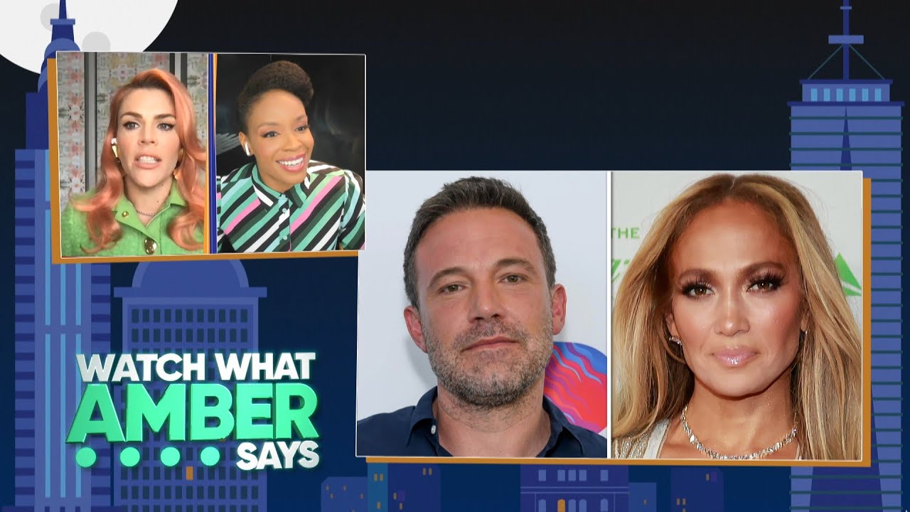 Busy Philipps & Amber Ruffin are Pro Bennifer | WWHL