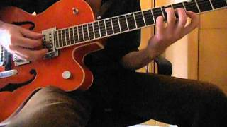 Stray Cats - Stray Cat Strut (1st Guitar Solo Tutorial)