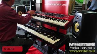 Nord Stage 3 88 vs Roland RD 2000 Comparison Demo