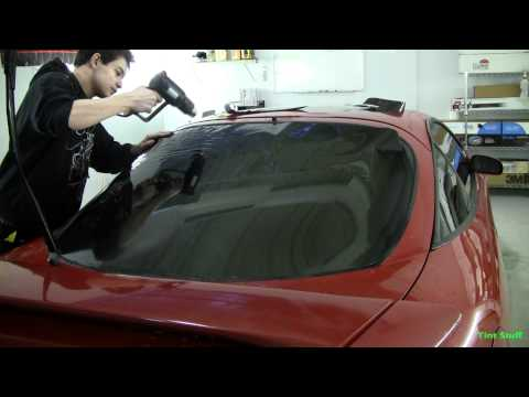 Dry Shrinking an Eclipse Back Window