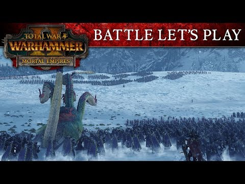 Total War: WARHAMMER 2 - Old World vs New World Battle Let's Play