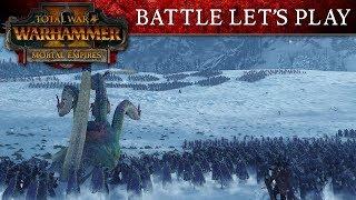 Total War: WARHAMMER 2 - Old World vs New World Battle Let's Play