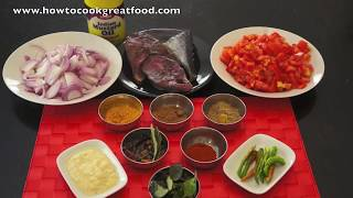Tuna Steak Curry Masala Recipe How To Cook Great Food Easy To Follow Indian Cuisine