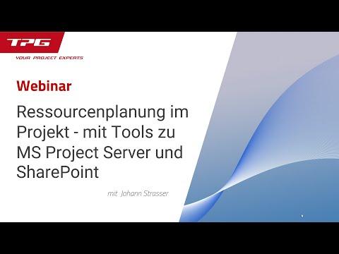 Ressourcenplanung im Projekt - so einfach geht's mit Tools zu MS Project Server und SharePoint