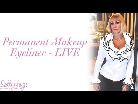 Permanent Makeup Eyeliner – Live